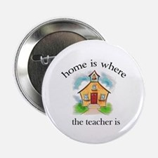 Home is where the teacher is Button