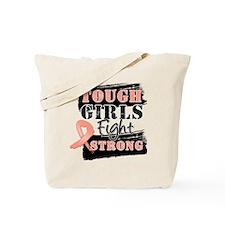 Tough Girls Uterine Cancer Tote Bag