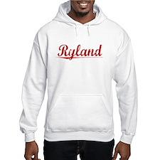 Ryland, Vintage Red Hoodie