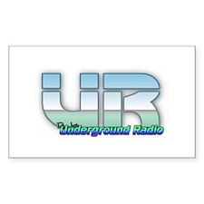 Underground Radio Promo 1 Decal