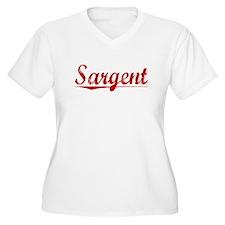 Sargent, Vintage Red T-Shirt