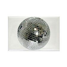 Spazzoid Disco Ball Rectangle Magnet Magnets