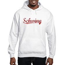 Schwing, Vintage Red Hoodie