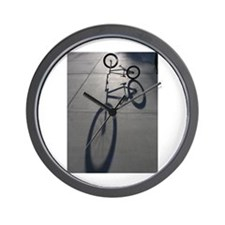 Bmx bike.jpg Wall Clock