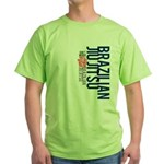 Pass out before you die BJJ Green T-Shirt