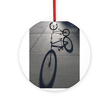 Bmx bike.jpg Ornament (Round)
