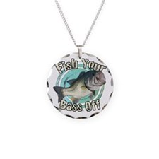 Fish your bass off Necklace