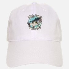 Fish your bass off Baseball Baseball Cap