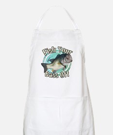 Fish your bass off Apron