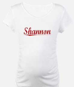 Shannon, Vintage Red Shirt