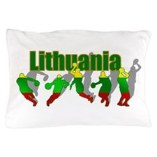 Lithuanian Basketball Pillow Case