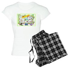 Pennsylvania Map Greetings pajamas