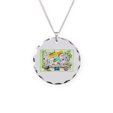Pennsylvania Map Greetings Necklace