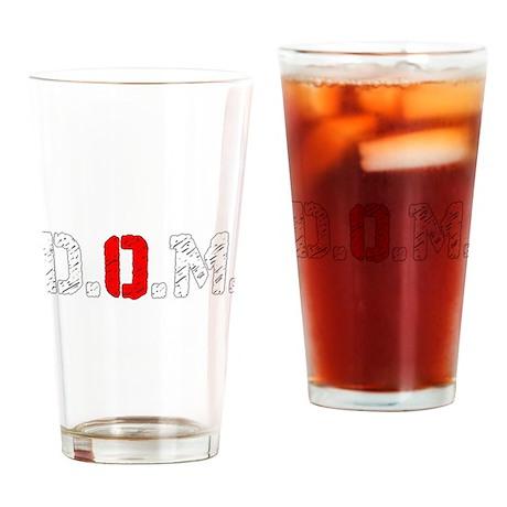 Dogs Of The Machine Logo Abbrev Drinking Glass