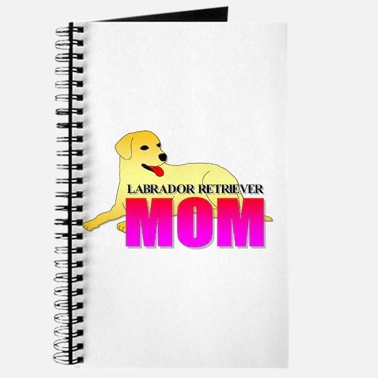 Yellow Labrador Retriever Mom Journal