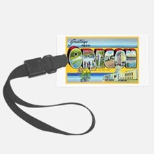 Oregon Greetings Luggage Tag