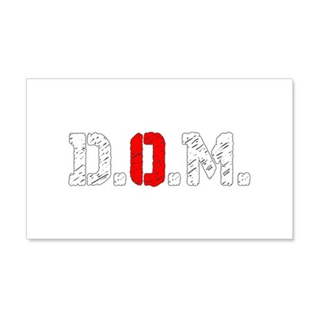 Dogs Of The Machine Logo Abbrev 20x12 Wall Decal