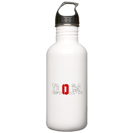 Dogs Of The Machine Logo Abbrev Stainless Water Bo