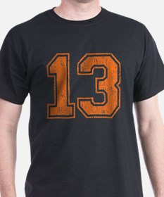 Retro 13 Number T-Shirt