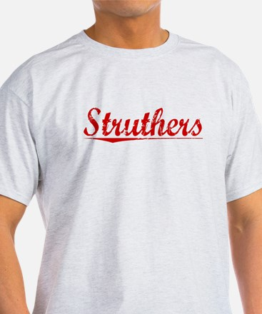 Struthers, Vintage Red T-Shirt