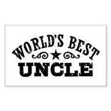 World's Best Uncle Decal