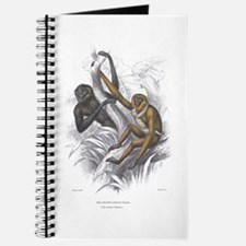 Gibbon Ape Monkey Journal