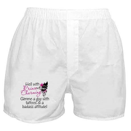 Hell With Prince Charming Boxer Shorts