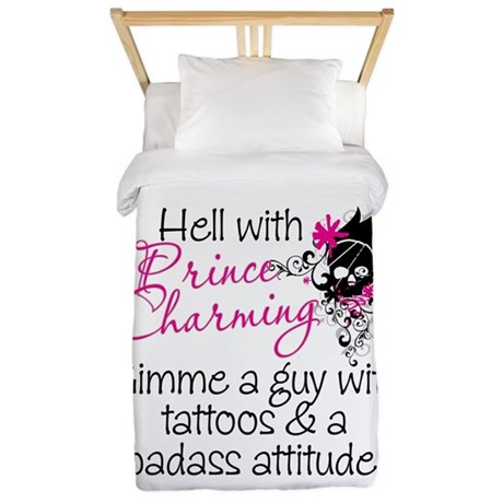 Hell With Prince Charming Twin Duvet