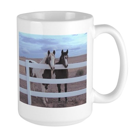 Paints and Pintos Large Mug