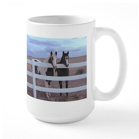 Paints and Pintos Large Mug