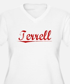 Terrell, Vintage Red T-Shirt