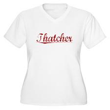 Thatcher, Vintage Red T-Shirt