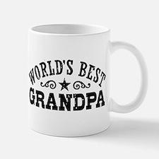 World's Best Grandpa Small Mugs