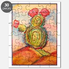 Cactus! Desert southwest art! Puzzle