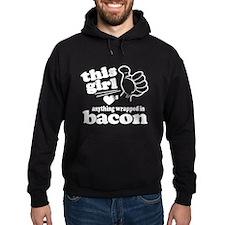 Girl Hearts Bacon Hoodie