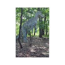 T-Rex Dinosaur Rectangle Magnet (10 pack)