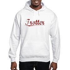 Trotter, Vintage Red Hoodie