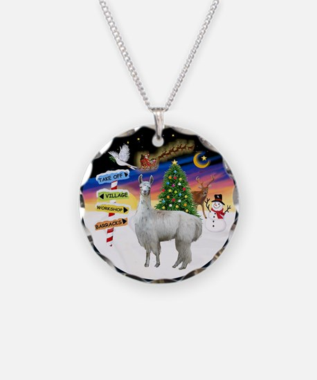 XmasSigns (R) - Llama Necklace
