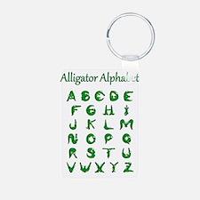 Alligator Alphabet Keychains