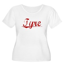 Tyre, Vintage Red T-Shirt