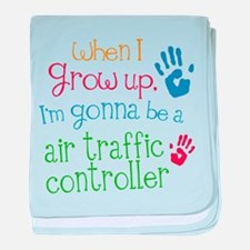 Future Air Traffic Controller baby blanket