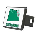 Lets Bounce Dice.png Rectangular Hitch Cover