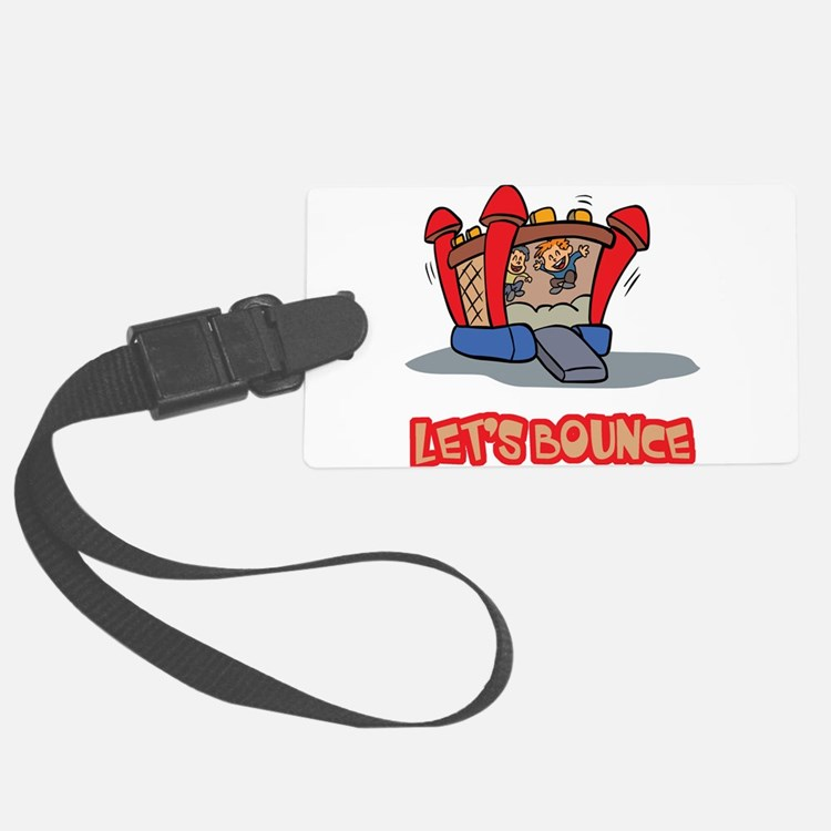 Lets Bounce Jump Castle.png Luggage Tag