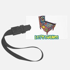 Lets Bounce Ping Pong Table Tennis.png Luggage Tag