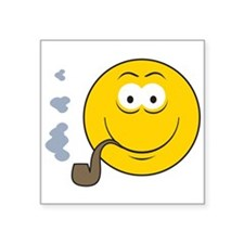 """smiley15.png Square Sticker 3"""" x 3"""""""