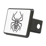 tribal spider design.png Rectangular Hitch Cover
