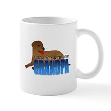 Chocolate Labrador Retriever Grandpa Mug