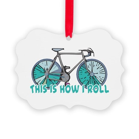 bicycle copy.png Picture Ornament
