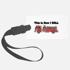 fire truck.png Luggage Tag