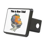3-garbage truck.png Rectangular Hitch Cover
